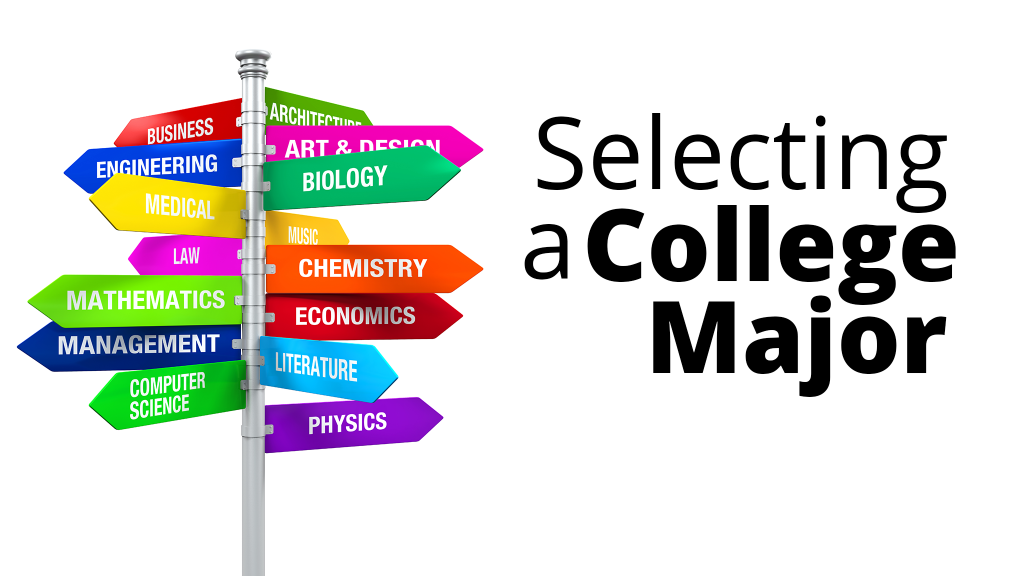 selecting college major