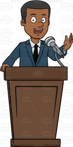 HOW TO WRITE A PRESIDENTIAL SPEECH EXAMPLE