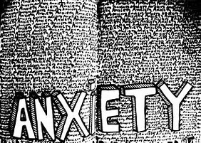 The different types of anxiety disorders in an anxiety research paper