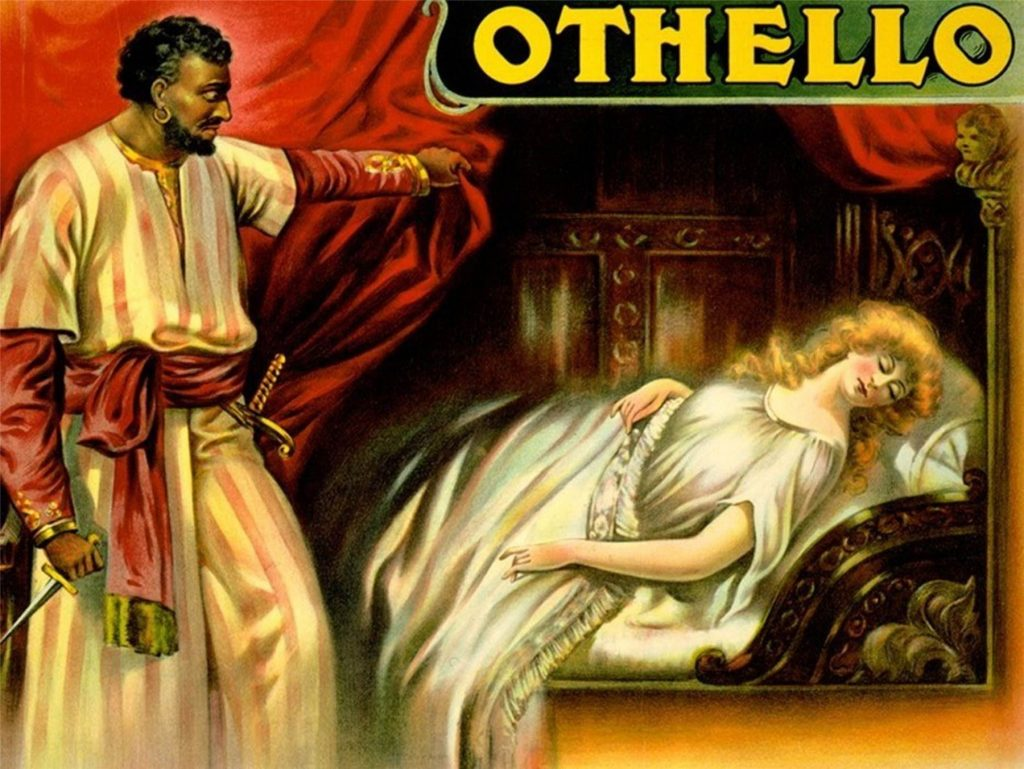 the presentation of the elements of a great tragedy in shakespeares othello