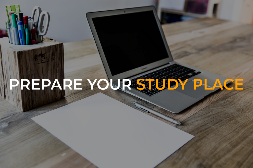 Organize Your Study Place